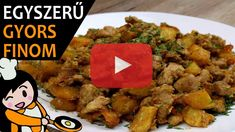 Brassói aprópecsenye - Recept Videók Curry, Make It Yourself, Meat, Chicken, Ethnic Recipes, Food, Youtube, Cooking, Curries