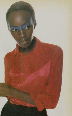 I-D Magazine Jan 1995 - Kiara Kabukuru by Craig McDean