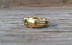 Vintage item from the 1930s Fede Gimmel Rings