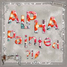 crea Diy Craft Projects, Diy Crafts, Digital Scrapbooking, Holiday Decor, Design, Home Decor, Punctuation, Painted Patterns, Lower Case Letters