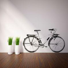 Vinilo decorativo de Bicicleta Vintage. Masquevinilo.com