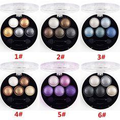 stéréo lumineuse 5 poudre de couleur d'ombre ubub rôti oeil métallique miroitement (6 couleurs au choix) – EUR € 3.99