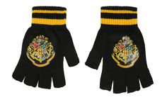 Fingerless gloves that let you show pride for your alma mater. | 31 Stocking Stuffers For Every Harry Potter Fan