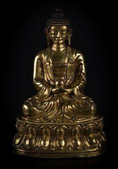 A figure of Buddha Amitabha Mongolia, 17th Century