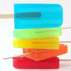 #DIY homemade soap popsicles!