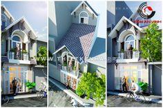 Thiết kế nhà phố mang phong cách hiện đại. http://thietkenha.pro/thiet-ke-nha-pho