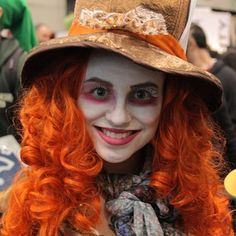 This maddeningly stunning Mad Hatter. | 25 Chilling Tim Burton Costumes You Should Try This Halloween