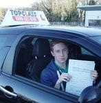 Driving Lessons, Try Us and See Deal 10 Hrs - £159 Congratulations to James Williams of Chatham Kent who passed his practical driving test on Wednesday 14th January James passed his test at the Gillingham driving test centre. Now the journey to school and back will be so much easier. All the best for the future from your driving instructor Matt and all the team at Topclass Driving School.
