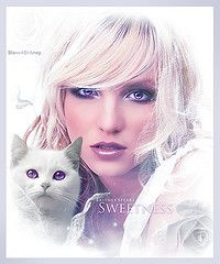 Britney Spears [ Sweetness ] ( Omar Rodriguez V.) Tags: roses woman art fashion rose rock photomanipulation star graphicdesign photo artwork glamour kitten amy princess sweet designer spears circus madonna banner kitty pop queen fantasy seek omar sweetness britney rodriguez womanizer slave4britney