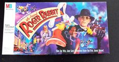 Roger Rabbit, Milton Bradley, Thing 1, Favorite Cartoon Character, Jessica Rabbit, Game 1, Family Games, Classic Toys, Vintage Toys