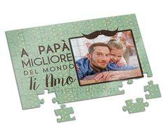 Puzzle A4 Papà ti amo