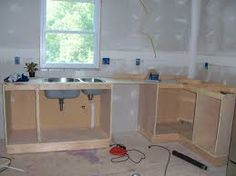 Plans For Building Kitchen Cabinets From Scratch - Wallpaperall How To Make Kitchen Cabinets, Frameless Kitchen Cabinets, Building Kitchen Cabinets, Kitchen Cabinets Pictures, Ikea Cabinets, Built In Cabinets, Kitchen Ideas, Pallet Furniture Designs, Quality Kitchens