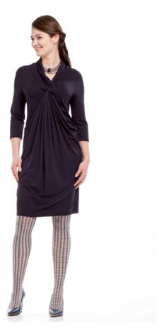 fabulous maternity tunic dress from mama i ja which can be dressed up or down - Christmas Maternity Dresses