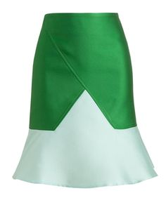 OSTWALD HELGASON | Structured Double-faced Silk-blend Jacquard Skirt | Browns fashion & designer clothes & clothing