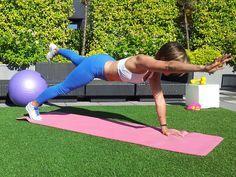 Le coaching fitness de Julie Ferrez pour mincir à 30 ans