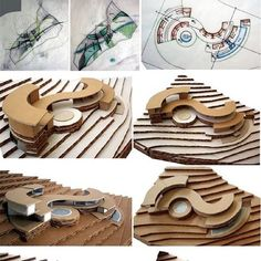 ideas for origami architecture plan Concept Models Architecture, Architecture Model Making, Conceptual Architecture, Architecture Presentation Board, Architecture Concept Drawings, Architecture Plan, Arch Model, How To Plan, Elevation Plan