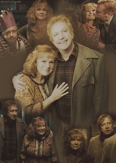 """Arthur & Molly Weasley <3 """"No parent should ever have to bury their child."""" --King Theodan, Lord of the Rings."""