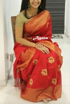 Beautiful #Cotton_Saree by http://www.StudioAyana.com/ @studioayana <3