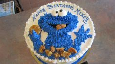 Cookie monster cake from http://www.thecasualgourmet.com/wedding-cakes/special-occasion-cake
