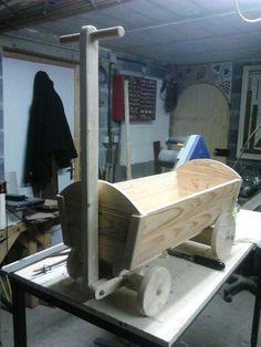 Chariot en bois Instructions de montage Do-it-yourself