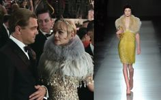 Miuccia Prada.collaborated with Catherine Martin (wife of Writer-Producer-Director Baz Luhrmann) to create more than 40 costumes for Gatsby 2013 actresses.