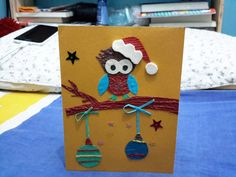 Home made Christmas card from asui tallanao, 2015