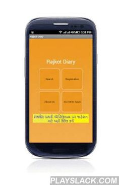 Rajkot Diary  Android App - playslack.com , The Goal of Rajkot Diary Android Apps to Provide Contact Numbers of All Business of Rajkot City of Gujarat with Rating and Popularity Free of Cost for Life !Benefits : Business Owner ★ Business Registration is Free of Cost.★ Business Can Add their Contact Details or Visiting CardBenefits : Users ★ Easy Search of Business via Categories★ Sort Business by Name,Popularity and Rating★ Easy Option to make Call, SMS and EmailTarget Users ★ Rajkot…