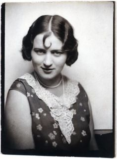 from the 20's in a german photomaton