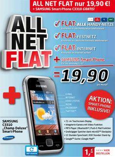 handyservice.de Allnet Flat Angebot