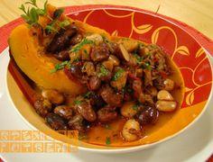 Започна сезонът на тиквата, затова днес ви представим една вкусна рецепта - тиква с боб.