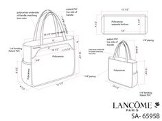 Promotional Handbags and Packaging by Jessica Tong-Ahn at Coroflot.com
