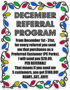 I love REFERRALS!!! ❤ Rodan + Fields skincare products truly are amazing!!! ❤ Message me!!! ❤