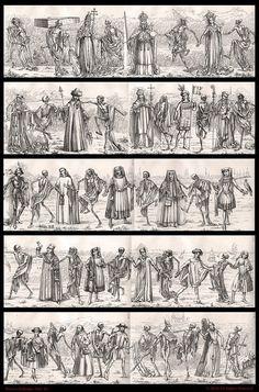 Black Plague - the Dance of Death History Of Earth, Death Art, Post Mortem Photography, Dance Of Death, Danse Macabre, Black Death, Unusual Art, Vanitas, Dark Ages
