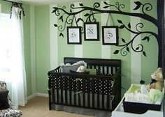 Tree Wall Decal Wall Sticker Art nursery wall by WallDecalDepot, $110.00