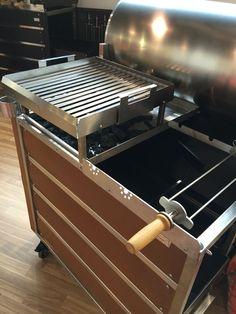 Sistema a doppia cottura del grill BROMO  PROGETTO FUOCO 2016