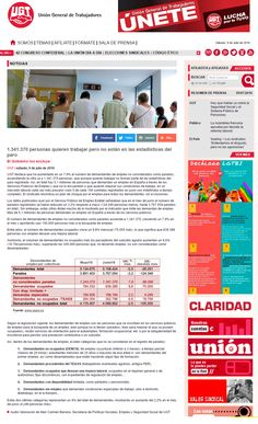1.341.370 personas quieren trabajar pero no están en las estadísticas del #Paro http://www.