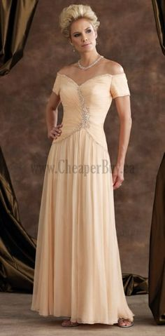 Custom Your Own Dresses To Wear To A Wedding Floor Length A-line Strapless V Neck For Cheap Wedding Party Dresses