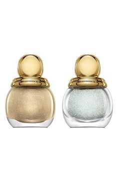 Dior Golden Winter Holiday 3D Jewel Manicure Duo