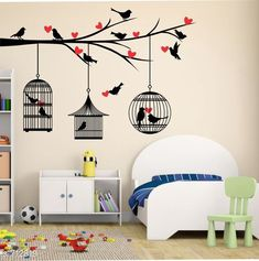 Decorative Stickers Colorful PVC Wall Sticker  *Material* PVC  *Size (W X L)* 85 cm X 121 cm  *Description* It Has 1 Piece Of Wall sticker  *Sizes Available* Free Size *   Catalog Rating: ★4.1 (356)  Catalog Name: Beautiful PVC Wall Stickers Vol 7 CatalogID_80745 C127-SC1267 Code: 281-712819-