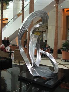 Sculpture in the lobby of the Westin Diplomat Resort, Hollywood, Florida.
