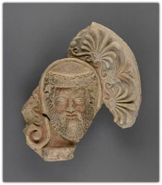 Etruscan Terracotta Antefix - 4th century B.C. Unknown | The J. Paul Getty Museum