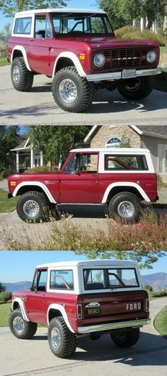 1972 Ford Bronco [Original First Edition Sasquatch Restored]