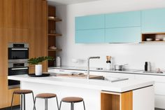 When building or renovating your kitchen, the focus should be on achieving a good design. Here are a few tips to help you create a beautiful as well as functional kitchen.  http://www.domain.com.au/advice/kitchen-renovation-ideas-to-inspire-you-in-the-new-year-20151224-glujwk/  #kitchen #kitchenrenovations #kitchenideas