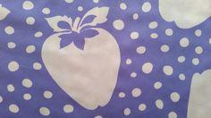 Strawberry and Dot - Cotton - Retro Fabric - 6C147