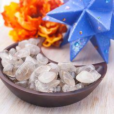 Rutilated Quartz Tumbled Gemstone Mineral by BelladeLunaDesigns