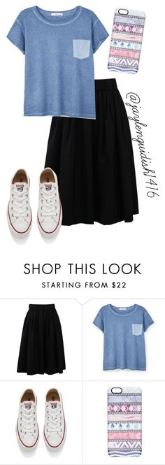 """apostolic fashion"" by jaylenguidish0416 on Polyvore featuring Brunello Cucinelli, MANGO, Converse, Casetify, women's clothing, women, female, woman, misses and juniors"