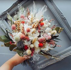 New Flowers Boquette Diy Dry Ideas Dried Flower Bouquet, Dried Flowers, Amazing Flowers, Beautiful Flowers, Wedding Bouquets, Wedding Flowers, Floral Wreath, Floral Flowers, Florals
