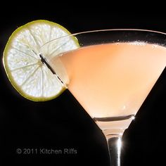 Pegu Club Cocktail - gin, cointreau, lime, angostura, orange bitters