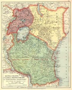 112 Best Kenya Uganda & Tanganyika GB Postage stamps images