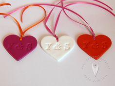 Personalisierte Herz Anhänger für die Hochzeit - Hochzeitsdeko - Hochzeitsideen - www.tortenfiguren.at Cookie Cutters